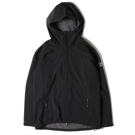 Karrimor カリマー ジャケット ソフトシェル アリート フーディージャケット arete hoodie ブラック L 【メンズ】【中古】【K2972】