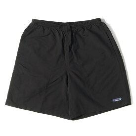 Patagonia パタゴニア パンツ 20SS バギーズショーツ ショートパンツ ハーフパンツ 短パン Baggies Shorts-7 ブラック S 【メンズ】【K3064】