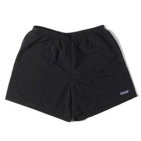 Patagonia パタゴニア パンツ バギーズショーツ Baggies Shorts-5 17SS ブラック M 【メンズ】【美品】【中古】【K3046】