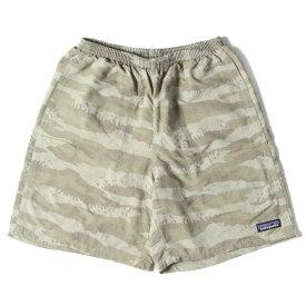 Patagonia パタゴニア パンツ ロックカモ 柄 バギーズショーツ ショートパンツ Baggies Shorts-7 18SS ロックカモ ROCS XS 【メンズ】【中古】【K3092】
