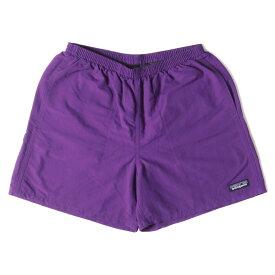 Patagonia パタゴニア パンツ バギーズショーツ ショートパンツ Baggies Shorts-5 20SS パープル(PUR) S ボトムス ズボン 【メンズ】【中古】【美品】【K3118】