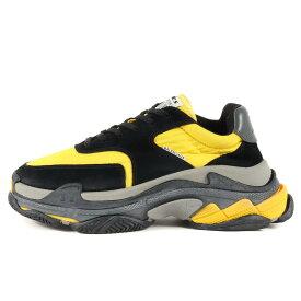 BALENCIAGA バレンシアガ トリプルエス トレーナー TRIPLE S Trainers 533886 ブラック イエロー 黒黄 42 靴 スニーカー シューズ 【メンズ】【中古】【K3113】