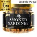 スモークオイルサーディン バンガ 瓶 187g×6個送料無料 1個あたり614円[燻製][オイルサーディン][いわし][オイル漬け…