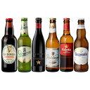 世界のビール6本飲み比べセット 第2弾 スペイン産高級ビール入り![詰め合わせ][オクトーバーフェスト][長S]