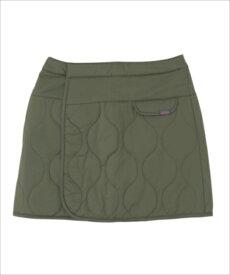 【代引不可】PHENIX(フェニックス) PH862SK72-OL【WOMENS】Quilted Wrap Skirt(ラップスカート) オリーブ PH862SK72アウトドア スカート