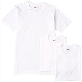 【代引不可】【ユニセックス】HM2135G-010(ヘインズ)Hanes Tシャツ アカラベル クルーネック 3枚組 (2016年モデル) 【スポーツ】【Tシャツ】
