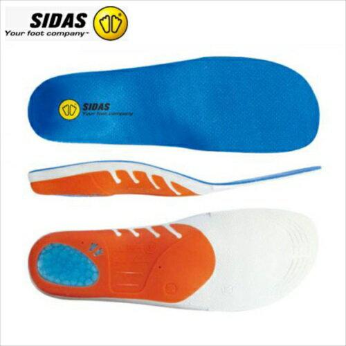 シダス(SIDAS) 衝撃吸収インソール 3D アクション3D 201218テニス・バスケットボール・バレーボール・バドミントン中敷き(メール便)