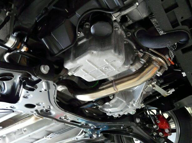 アルトワークス HA36S 2WD オールステン フロントパイプ サポートパイプ 50Φ