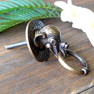 真鍮製家具用ノブ(取っ手・ハンドル・つまみ) 087