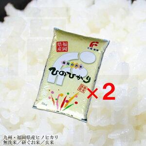 無洗米 送料無料 福岡県ヒノヒカリ 九州米無洗米 10kg 九州産ひのひかり関東あす楽対応商品