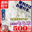平成28年熊本産ヒヨクモチ 【無洗米】もち米1kg小分けパック 九州産 米