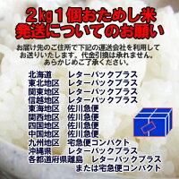 無洗米2kg九州・福岡県民米「夢つくし」県内販売銘柄ダントツNo1!九州産米2kg1個価格