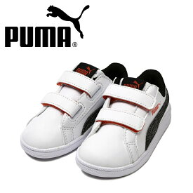d37afe8c7b09  PUMA スマッシュデニム 2 V インファント ホワイトオレンジ コートタイプ テニススタイル 363996-