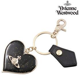 【送料無料】【ヴィヴィアンウエストウッド キーリング MIRROR HEART GADGET 82030008 BLACK】【IP-0503】 VIVIENNE WESTWOOD オーブ おしゃれ ブランド プレゼント ギフト 誕生日