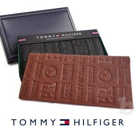 トミーヒルフィガー 長財布 Eastbourne 31TL19X018 TOMMY HILFIGER トミー メンズ 財布 ウォレット サイフ レザー 革 クリスマス ギフト プレゼント