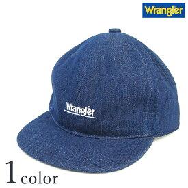 【ラングラー デニムベースボールキャップ DS391】【Y-0159】  Wrangler メンズ ロゴ 帽子 CAP 人気 おしゃれ