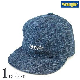 【ラングラー ウォッシュデニムベースボールキャップ DS433】【Y-0160】  Wrangler メンズ ロゴ 帽子 CAP 人気 おしゃれ