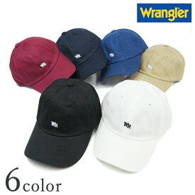 【メール便送料無料】【ラングラー ミニロゴ刺繍ローキャップ DW081】【Y-0196】  Wrangler メンズ レディース 男女兼用 ロゴ 帽子 CAP 人気 おしゃれ