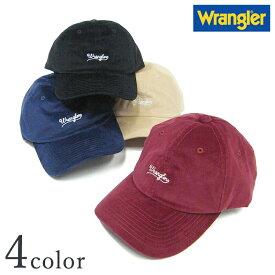 【ラングラー コーデュロイ刺繍ローキャップ DW084】【Y-0205】  Wrangler メンズ レディース 男女兼用 ロゴ 帽子 CAP 人気 おしゃれ