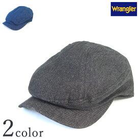 【ラングラー デニムハンチング DW951】【Y-0189】  Wrangler メンズ レディース 男女兼用 ロゴ 帽子 CAP 人気 カジュアル
