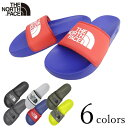ザ ノースフェイス メンズ サンダル ベースキャンプ スライド 3 NF0A4T2R ブラック ホワイト カーキ グレー ブルー Th…