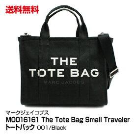 送料無料 ブランド レディース トートバッグ MARC JACOBS マークジェイコブス The Tote Bag Small Traveler Tote M0016161 001 Black_4582357843852_21