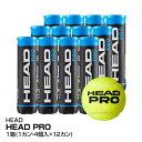 送料無料 テニス ボール 硬式 HEAD ヘッド HEAD PRO 1缶4個入×12缶_0072489716048_97