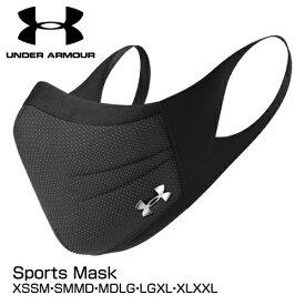 マスク UNDER ARMOUR アンダーアーマー スポーツマスク UA Sports Mask 1368010 ブラック XS/SM〜XL/XXL_0195250918950_93