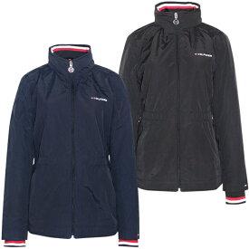 トミーヒルフィガー Tommy Hilfiger レディース ジャケット ウインドブレーカー ロゴ ファッション アウター 防寒 防風 あったか フード付き