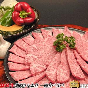 \お家でお肉! 今だけ、29%OFFクーポン/松阪牛 1頭 食べ比べ ギフト セット(霜降り&赤身)[送料無料] | 母の日 松阪牛 1頭 食べ比べ すき焼き しゃぶしゃぶ 焼肉 ステーキ 松坂牛 結婚祝い