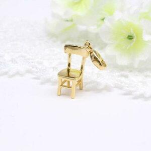 ウノアエレペンダント K18イエローゴールドペンダント椅子のペンダントかわいいモチーフペンダントイタリージュエリーイタリア製UNOAERREウノアエレウノアエレ正規店人気 椅子のチャーム