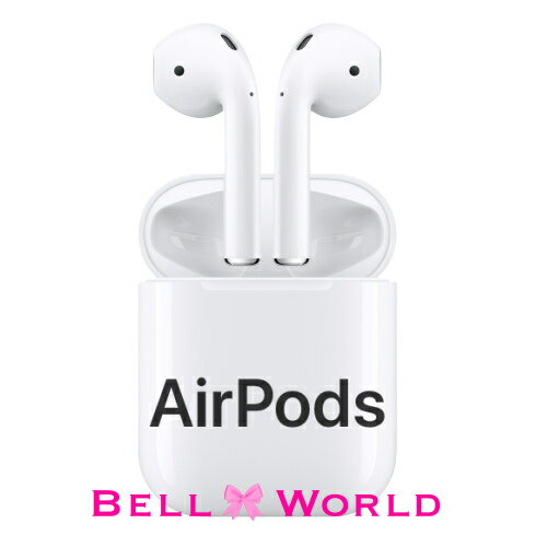 AirPods エアポッズ AppleMMEF2J/A AirPods ワイヤレスイヤホン