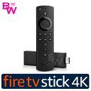 Amazon Fire TV Stick【4K】アマゾン ファイアースティック 対応音声認識リモコン付【新品・正規品】Amazonファイアー…