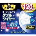 東京企画販売 立体設計 Wワイヤーマスク 大人用 120枚入(新品・未開封)送料無料 PM2.5対応 かぜ 花粉 予防