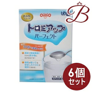 【×6個】日清オイリオ トロミアップ パーフェクト 3g×25本入