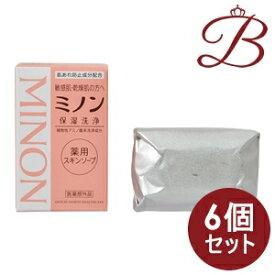 【×6個】ミノン 薬用スキンソープ 80g