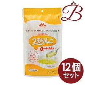 【×12個】森永乳業 アクトケア つるりんこ Quickly クイックリー とろみ調整食品 3g×10本入