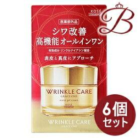 【×6個】コーセー グレイス ワン リンクルケア モイストジェルクリーム 100g