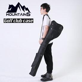 ゴルフクラブケース ゴルフバック ゴルフバッグ 練習用バッグ 軽量 大容量 A4サイズに折りたたみ可能 8本収納バック 2つポケット付き コンパクトソフトキャリーバッグ ゴルフ用品 キャディーバッグ 打ちっぱなし 送料無料 グローブ ボール