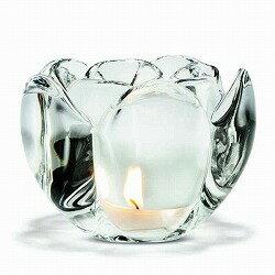 キャンドルスタンド ガラスホルムガード LOTUS VOTIVE CLEAR H9cm (L)ロータス ティーライトホルダー H9cm 4341632キャンドルホルダー 北欧 インテリア雑貨 キャンドル ガラス