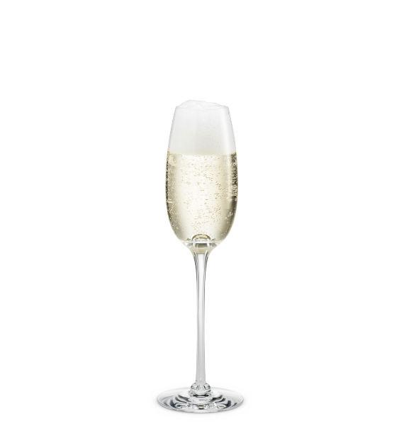 ホルムガード HOLMEGAARDFONTAINE Champagne flute 210ml シャンパンフルート 210ml #4300135 吹きガラス 北欧 ワイングラス シャンパングラス ギフト ラッピング ガラス ギフトボックス 北欧デザイン
