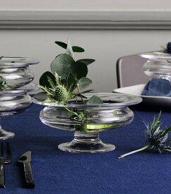 花瓶 フラワーベース ガラス ホルムガードオールドイングリッシュ フワラーボウル (S) φ 13cmOLD ENGLISH Flower bowl 4343813花器 トレー 北欧 インテリア 雑貨 デンマーク ギフト プレゼント 無料ラッピング