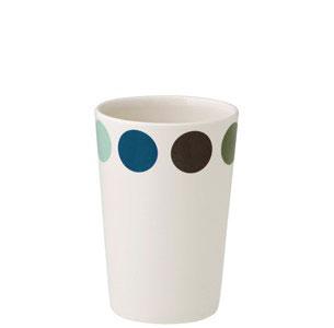 マグカップ 陶器HELBAK ヘルバックDOT cup カップ DO10-02H:11cm 30ml北欧雑貨 デンマーク ハンドメイド