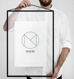 MOEBE ムーベ フレーム FRAME A2 Black ブラック / アートフレーム / 額縁 / 壁掛け / ギフト / 写真 / ポスター / デンマーク 北欧 FABA2