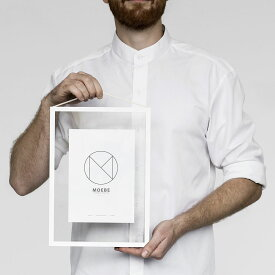 MOEBE ムーベ フレーム FRAME A4 White ホワイト / 額縁 / 壁掛け / ギフト / 写真 / ポスター / デンマーク 北欧 FAWA4