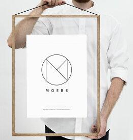 ムーベ フレーム A2 MOEBE FRAME OAK オーク ナチュラル / 額縁 / 壁掛け / ギフト / 写真 / ポスター / デンマーク 北欧 FOUA2