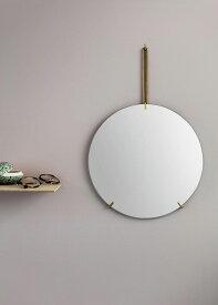 MOEBE ムーベ ウォールミラー 50cm ブラス WALL MIRROR Brass WMBR50 | 鏡 壁掛け フレームレス 北欧