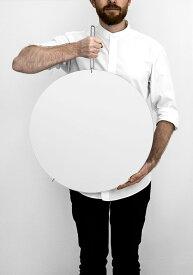 【 あす楽 】MOEBE ムーベ ウォールミラー 50cm クローム | WALL MIRROR Chrome WMCR50 | 鏡 壁掛け フレームレス 北欧