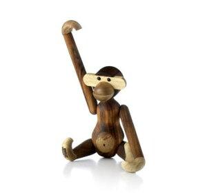 ローゼンダール#39250木製玩具モンキーsmall20cmMonkey,small,teak/limba
