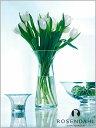 花瓶 ガラス ローゼンダール社 コペンハーゲン ROSENDAHL フィリグラン フラワーベース ライン (L) Filigran Vase line 24cm...
